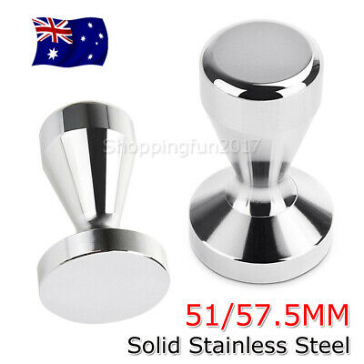 51MM / 57.5MM Coffee Tamper Stainless Steel Polished Tampa Tamp Espresso Barista