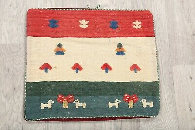 New Top Quality Throw Pillow Case 2x2 Kilim Hand Made Rug 1' 6 x 1' 7