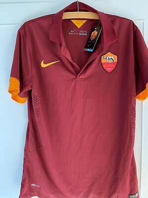 AS Roma FC replica home shirt -Nike -Size Large