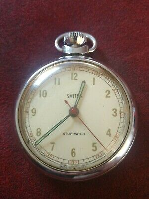 SMITHS stopwatch, made in great Britain, not running, spares or repairs