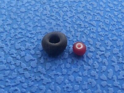 2 pcs. Viking bead. Rare Antique Bead #106