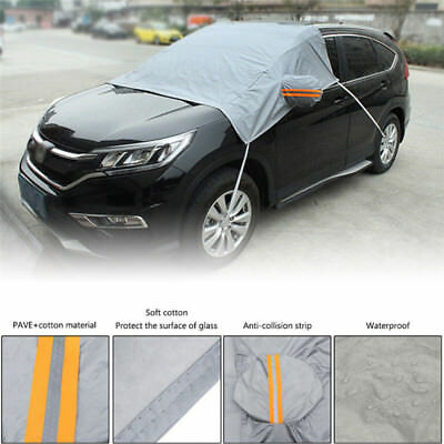Car Windscreen Mirror Shield Cover Frost Ice Snow Uv Sun Dust'Screen Protecto RU