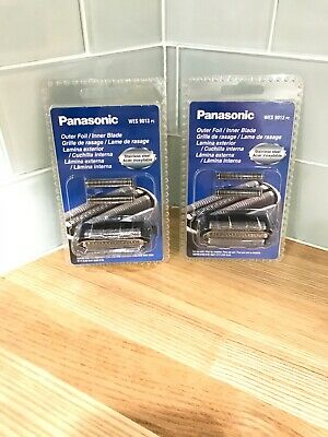 Lot Of 2! Panasonic WES9013PC Replacement Foil and Blades ESLT41 ES-LT71 ES8103