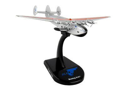 Ps5821 Postage Stamp Pan Am Yankee Clipper Flying Boat B314 1/350 Diecast Model