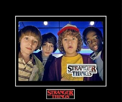 "STRANGER THINGS -  Cast Member Kids 8""x10"" Photo - 11""x14"" Matted"