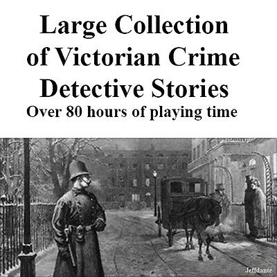 Victorian Crime Detective stories, Cribb, Craddock and others Audio MP3
