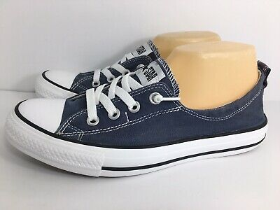 52067076d745 Converse Women s Chuck Taylor Shoreline Slip Casual Sneaker Shoes 537080F  Navy