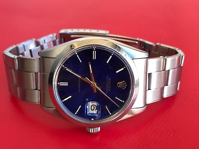 Collector's Item: Rolex Oysterdate Precision 6694 SS watch with two Dials