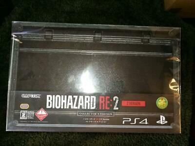 Bio Hazard Resident Evil RE2 Collector's Edition PS4 Japan Game