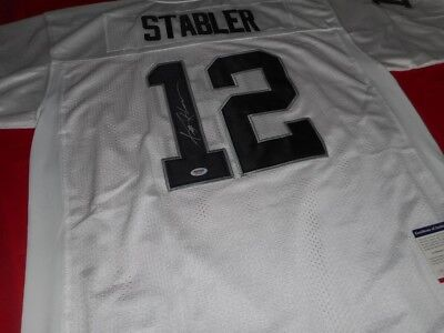 promo code 91ff2 f7224 KEN STABLER AUTOGRAPHED Jersey Certificate Of Authentication ...