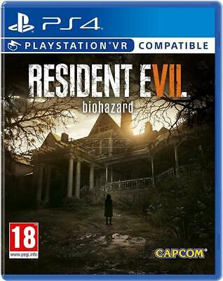 Resident Evil 7: Biohazard – VR Compatible PS4 - Brand New