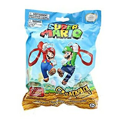 Super Mario Blind Bag Backpack Buddies Plush Clip NEW (1 Figures)