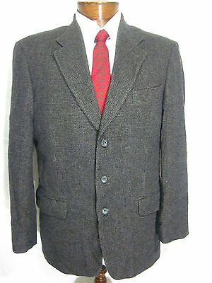 Mens 40R Executive Collection 3 btn Wool/Camelhair Soft Jacket Sport Coat Blazer