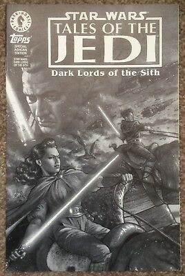 Star Wars Tales of the Jedi Dark Lords of the Sith Ashcan Edition Comic 1994
