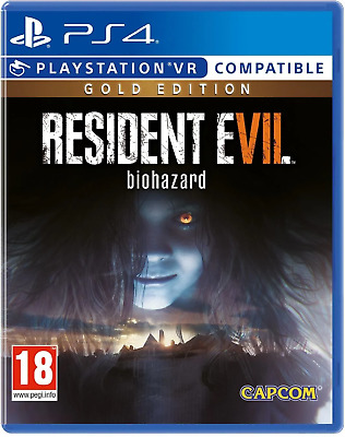 Resident Evil 7: Biohazard Gold Edition PS4 - Brand New - Factory Sealed