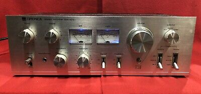 Sharp Optonica Model No. Sm-1515 H Stereo Amplifier Amplifier Made in Japan