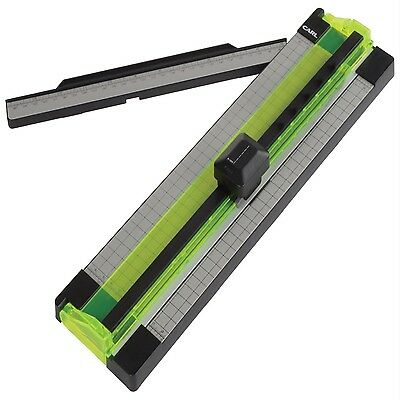 """Carl 12"""" Personal Rotary Trimmer Paper Cutter - Cut Pictures Scrapbooking Craft"""
