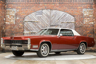1968 Cadillac Eldorado  68 375 hp 472ci V8 Automatic FWD Coupe pwr windows antenna headlight covers