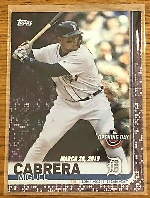 2019 Topps Opening Day PURPLE FOIL PARALLEL Cards - Meijer Exclusive - You Pick