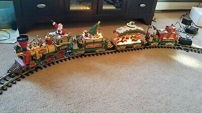New Bright Christmas The HOLIDAY EXPRESS Animated Train Set #380 1997 Limited Ed