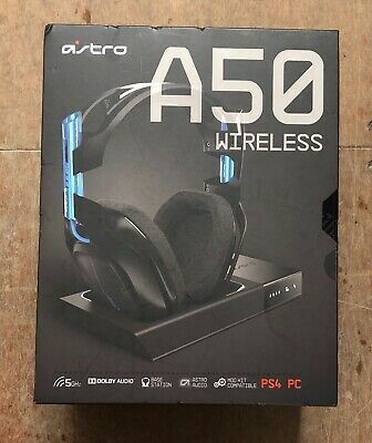 Astro A50 Wireless Gaming Headset PS4 Black Brand New Sealed Costs £300.00