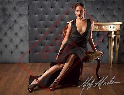 8.5x11 Autographed Signed Reprint RP Photo Meghan Markle Sexy