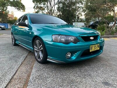 Ford Falcon Xr6 Turbo Bf Series Ii 2008 Model 6 Speed Auto Not Damaged Registere