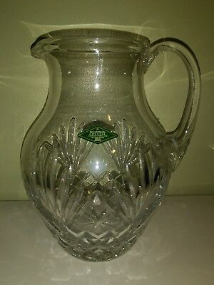 SHANNON designs of Ireland 24% Lead Crystal PITCHER PINEAPPLE COLLECTION