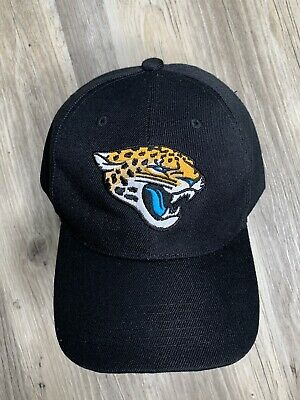 491e99d163c7e FLORIDA JACKSONVILLE JAGUARS NFL Team Apparel CAP HAT Adjustable Fits All  Black