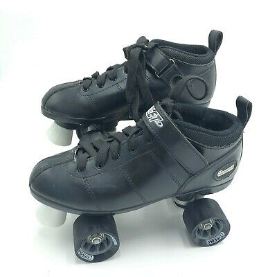 Chicago Skates Bullet Speed Skates Black Mens Size 8