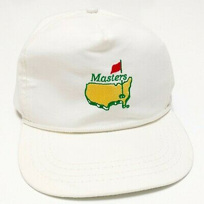 1980s Masters Augusta National Golf  Strapback Trucker Hat Vintage USA Made