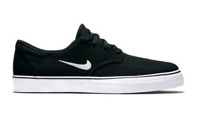 2694ec60c0aa New Nike Mens 11.5 SB Clutch Black Low Canvas Skateboarding Skate Shoes  Sneakers