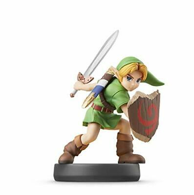 amiibo Young Link Super Smash Bros Mini Figure Game Toy Nintendo Switch
