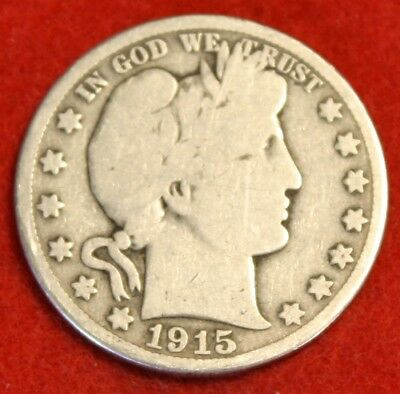 1915-S Barber Half Dollar Vg Beautiful Coin Check Out Store Bh563