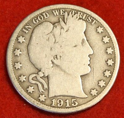 1915-S Barber Half Dollar Vg Beautiful Coin Check Out Store Bh564