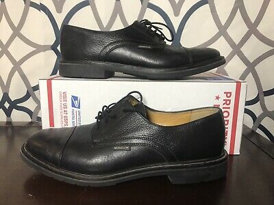 60f63efe928 Mephisto AirRelax Mens Sz 12 Goodyear Welt Black Cap Toe Oxford Derby Shoes
