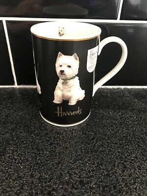 Harrods Westie Fine Bone China Mug