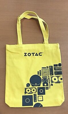 PAX East 2018 Zotac Canvas Tote Bag Yellow Hard to Find