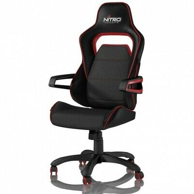 Nitro Concepts E220 Evo Gaming Chair - Noir / Rouge