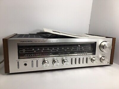 Realistic Sta-740 Stereo Fm/am Receiver Amplifier + Tuner All In One