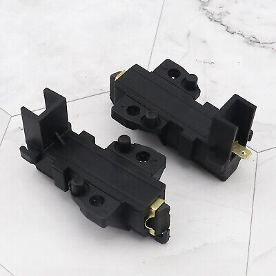 2x Motor Carbon Brushes Replacement Pair Set For HOOVER Washing Machine