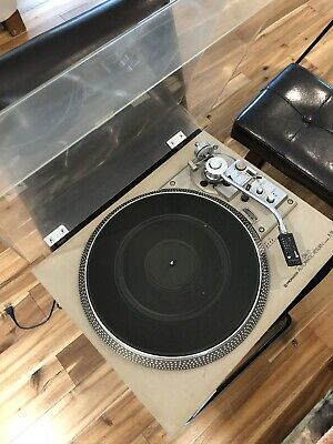 Vintage Pioneer PL-518 Direct Drive Auto Return Turntable Record Player READ DES