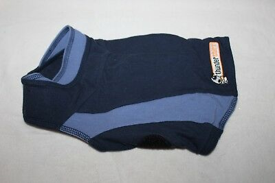 Sport Dog Thundershirt Anxiety Jacket Navy Blue Stripe Size SMALL Cat Puppy Calm