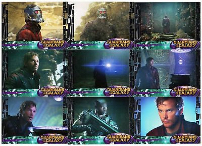 2014 Marvel Guardians of the Galaxy - Upper Deck - 90 Card Silver Hobby Base Set
