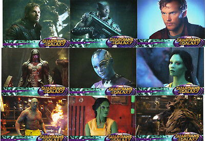 2014 Upper Deck; Marvel Guardians of the Galaxy - 90 Card Retail Base Set