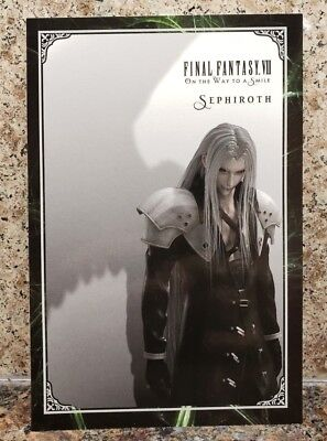 Sephiroth Final Fantasy VII 7 Art Card On The Way To A Smile Postcard Sqaure