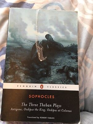 The Three Theban Plays by Sophocles (1984, Softcover, Prebound)