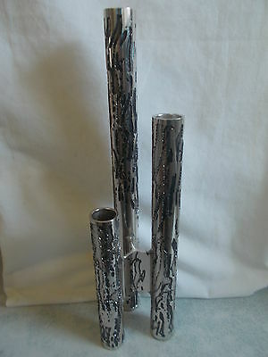 Rare Stephen Daly Signed Stalagmite Silver Candle Stick Holder - Don Sheil 1978.
