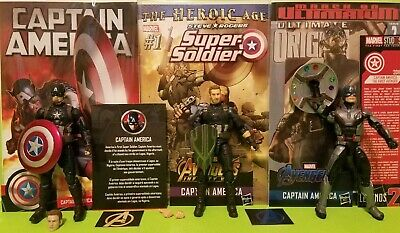 Marvel Legends CAPTAIN AMERICA WWII  AVENGERS INFINITY WAR END GAME 3-PACK !!!