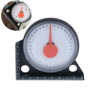 Mini High Precision Protractor Pointer Meter Slope Measuring Instrument Magne JF